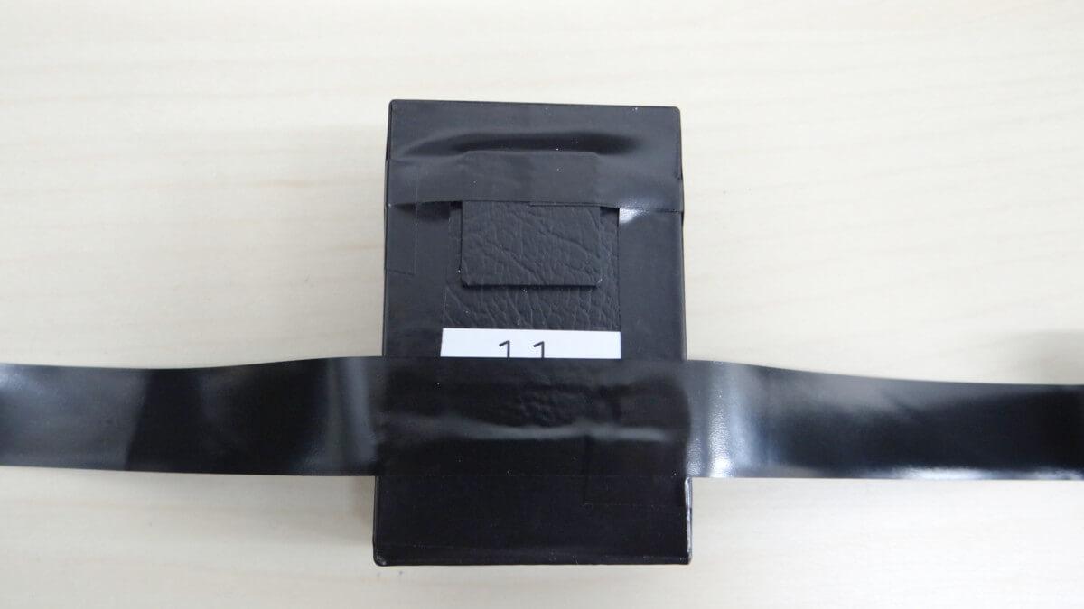 GPS発信機を車に取り付ける前【防水テープの巻き方と電源ランプ】