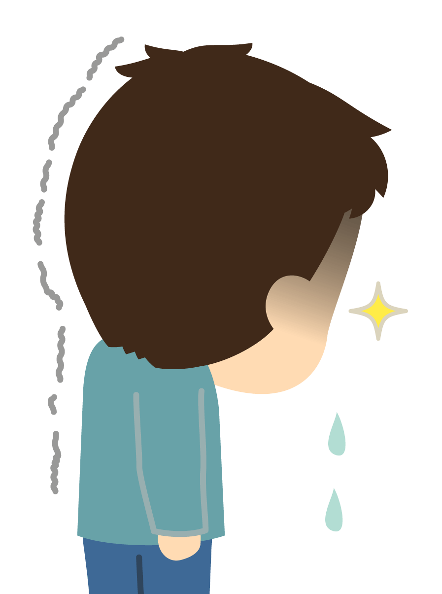 逆転判決で、離婚に慰謝料の請求ができなくなって泣いている男性