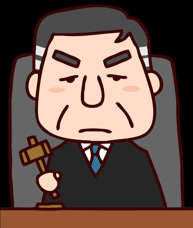 不倫相手に離婚慰謝料は請求できないと判決をいいわたす最高裁判所の裁判官