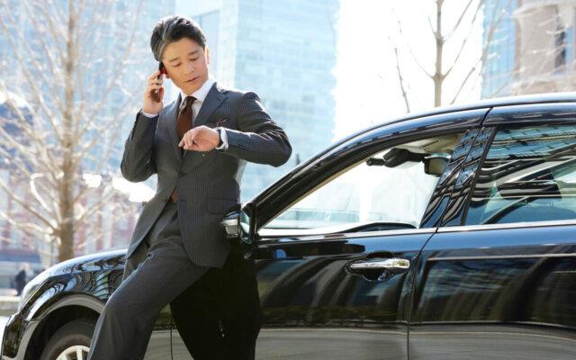 社長は会社に入り浸らずに車で好なタイミングで外出できる